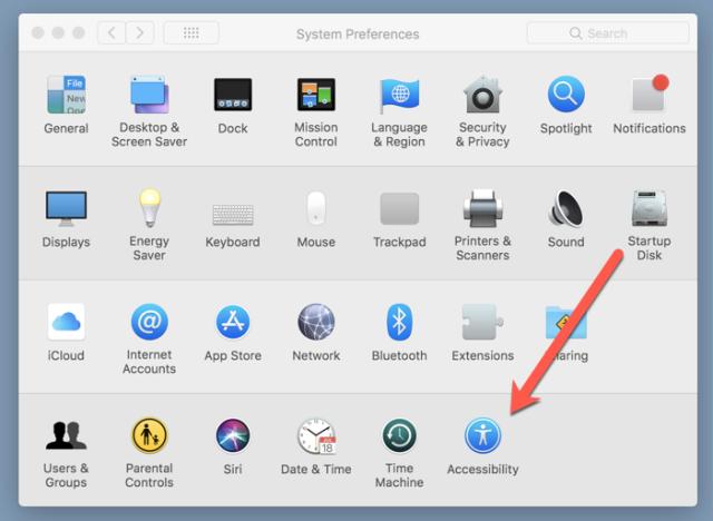 MAc-accessibility-menu